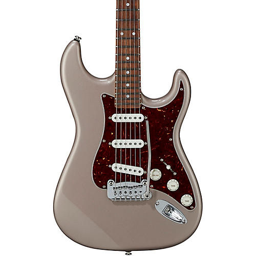 G&L Fullerton Deluxe Legacy Electric Guitar Caribbean Rosewood Fingerboard Shoreline Gold