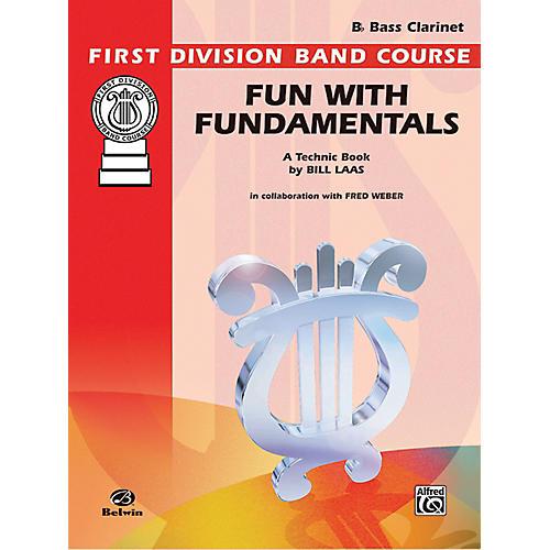 Alfred Fun with Fundamentals B-Flat Bass Clarinet Book