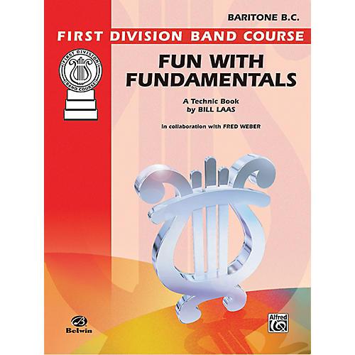 Alfred Fun with Fundamentals Baritone (B.C.) Book