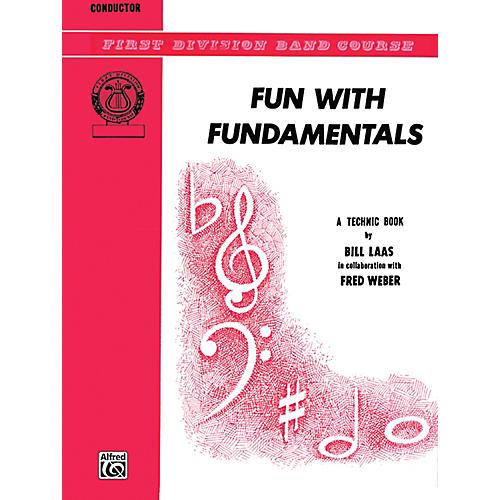 Alfred Fun with Fundamentals Conductor (Piano) Book
