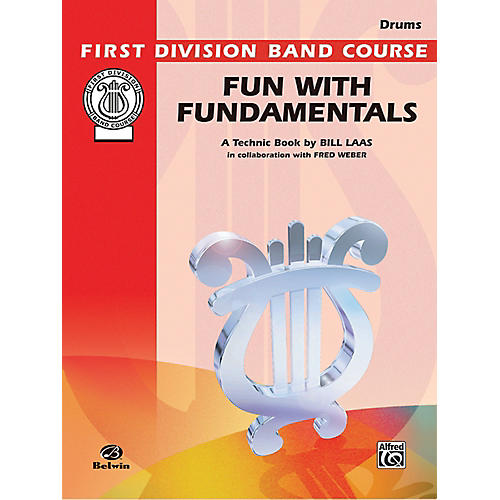 Alfred Fun with Fundamentals Drums Book