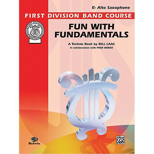 Alfred Fun with Fundamentals E-Flat Alto Saxophone Book