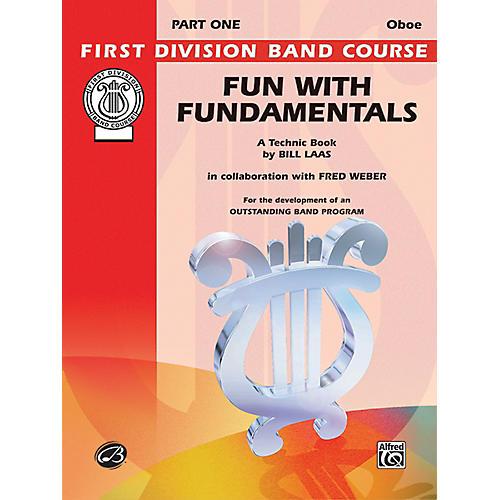 Alfred Fun with Fundamentals Oboe Book