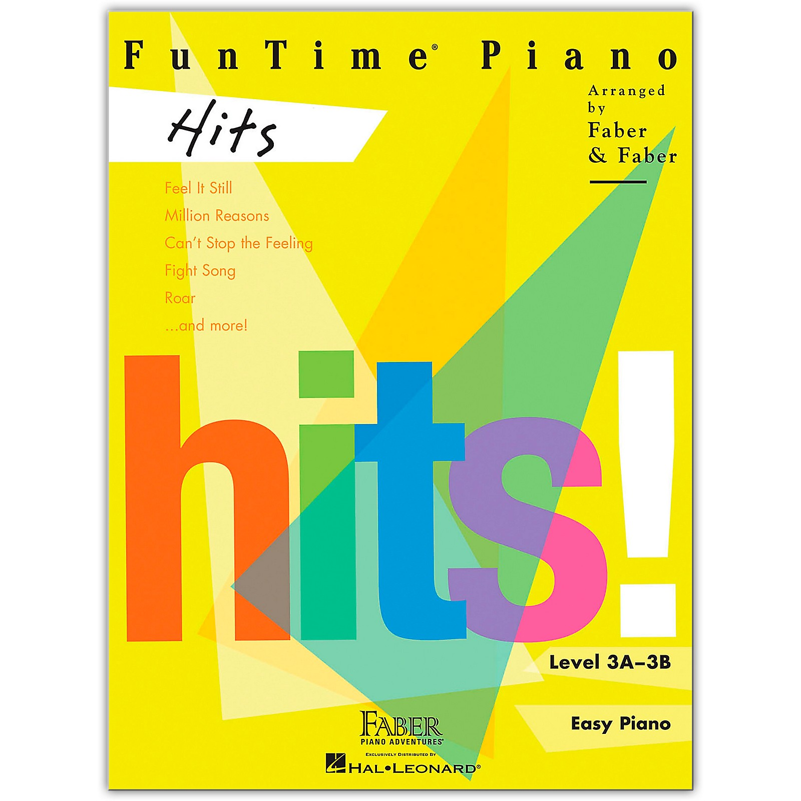 Faber Piano Adventures FunTime Piano Hits Level 3A-3B