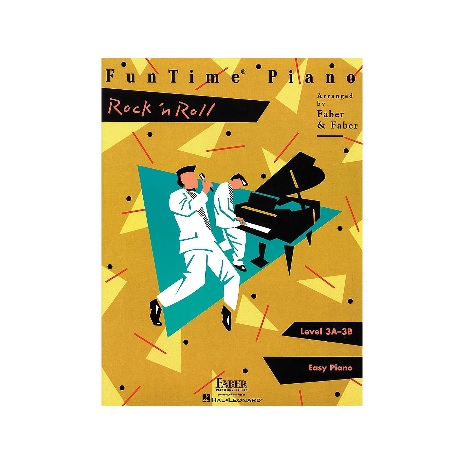 Faber Piano Adventures FunTime Piano Rock 'n' Roll Level 3A-3B