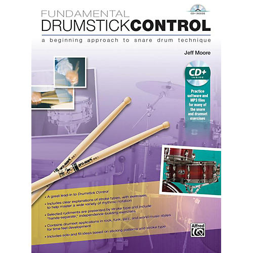 Alfred Fundamental Drumstick Control Book & CD