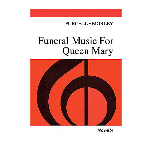 Novello Funeral Music for Queen Mary SATB