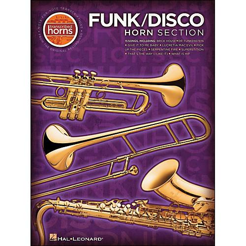 Hal Leonard Funk / Disco Horn Section Transcribed Horns