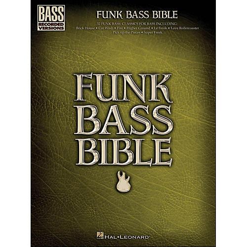 Hal Leonard Funk Bass Bible - Bass Tab Songbook