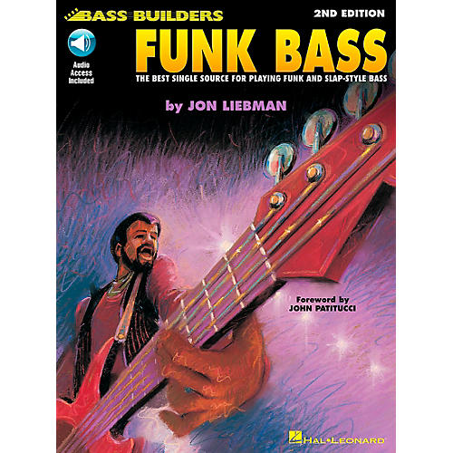 Hal Leonard Funk Bass Book/CD