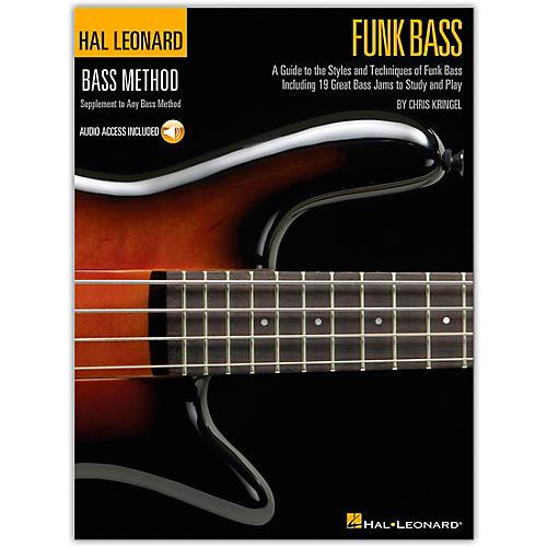 Hal Leonard Funk Bass Method (Book/Online Audio)