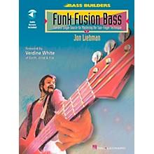 Hal Leonard Funk Fusion Bass Book/CD