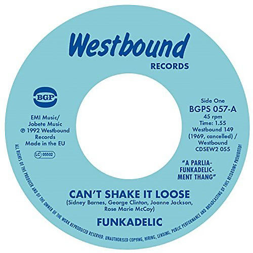 Alliance Funkadelic - Can't Shake It Loose / I'll Bet You