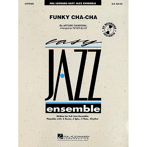 Hal Leonard Funky Cha-Cha Jazz Band Level 2 Arranged by Peter Blair