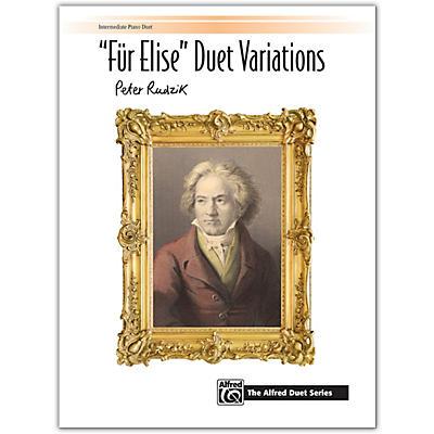 """Alfred """"Fur Elise"""" Duet Variations Intermediate"""