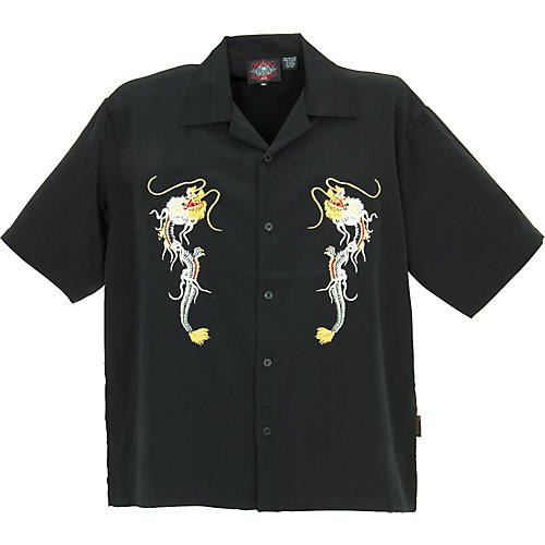 Dragonfly Clothing Fury Embroidered Woven Shirt
