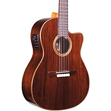 Open BoxCordoba Fusion 12 Rose Acoustic-Electric Nylon String Classical Guitar
