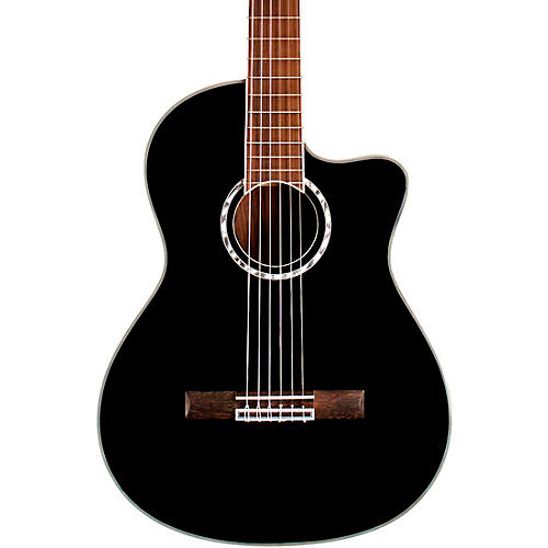 Cordoba Fusion 5 Acoustic-Electric Classical Guitar Jet Black