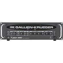 Open BoxGallien-Krueger Fusion 550 Hybrid Valve Bass Amplifier