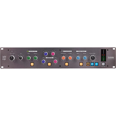 Solid State Logic Fusion Analog 2U Stereo Outboard Processor