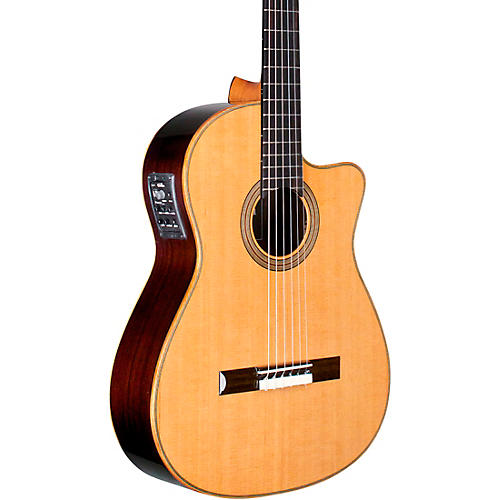 Cordoba Fusion Orchestra CE Crossover Classical Acoustic-Electric Guitar Natural