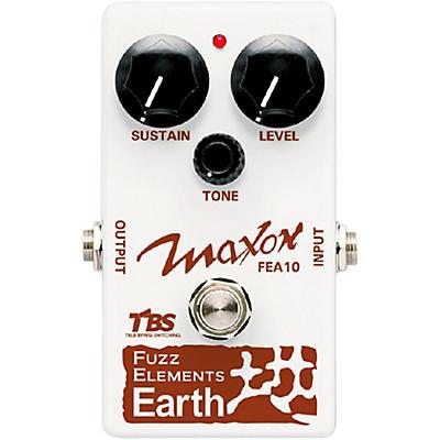 Maxon Fuzz Elements Earth Guitar Fuzz Pedal