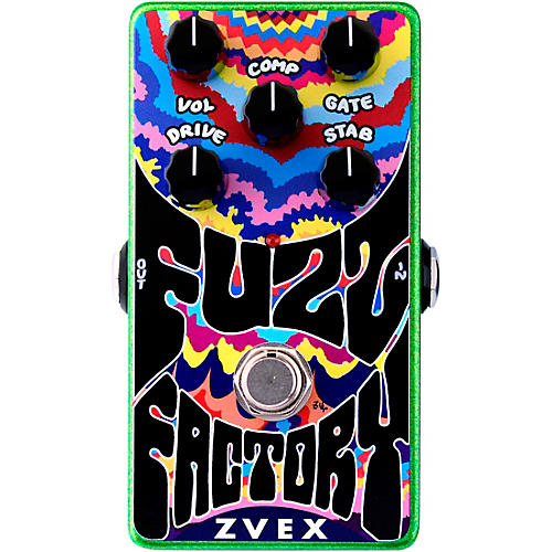 ZVex Fuzz Factory Vertical Effects Pedal