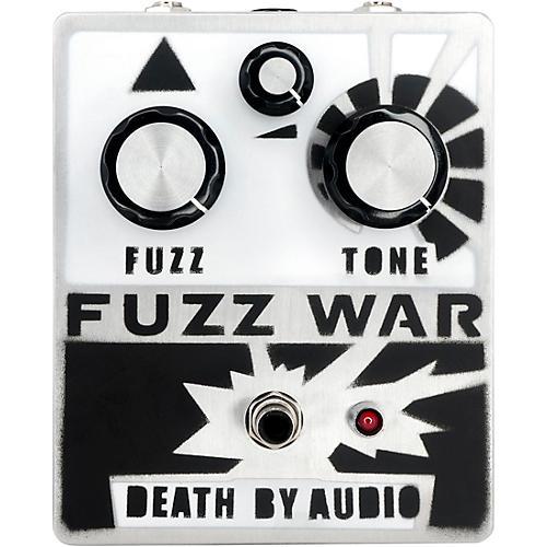 Death By Audio Fuzz War Effects Pedal Silver