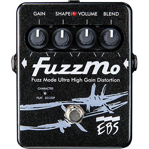 ebs fuzzmo ultra high gain distortion guitar effects pedal musician 39 s friend. Black Bedroom Furniture Sets. Home Design Ideas