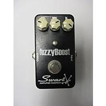 Swart Fuzzy Boost Effect Pedal