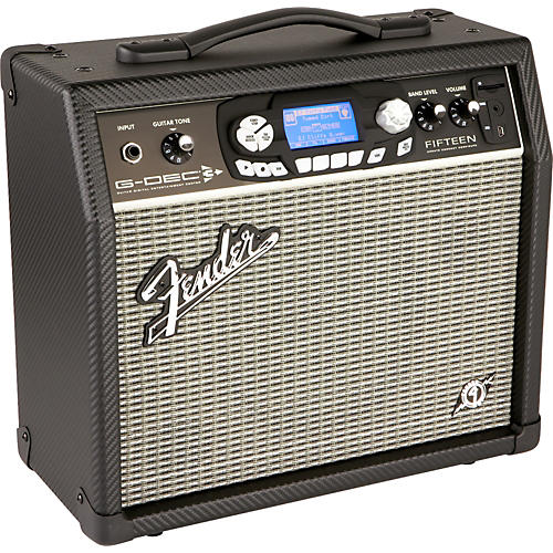 Fender G-DEC 3 Fifteen 15W 1x8 Guitar Combo Amp