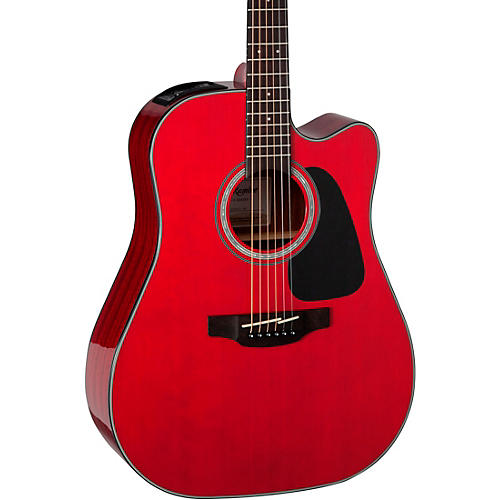 Takamine G Series GD30CE Dreadnought Cutaway Acoustic-Electric Guitar Wine Red