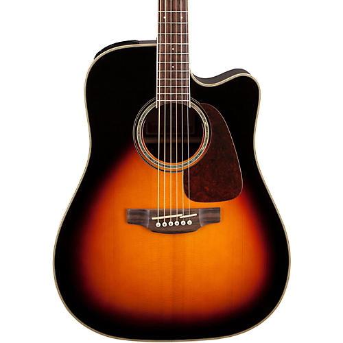 Takamine G Series GD71CE Dreadnought Cutaway Acoustic-Electric Guitar Gloss Sunburst