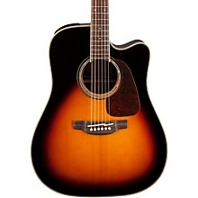 Open BoxTakamine G Series GD71CE Dreadnought Cutaway Acoustic-Electric Guitar