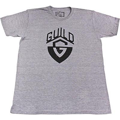 Guild G-Shield Distressed Logo Charcoal Grey T-Shirt