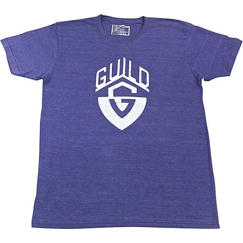Guild G-Shield Distressed Logo Navy T-Shirt