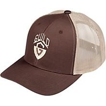 Guild G-Shield Logo Khaki Brown Trucker Hat