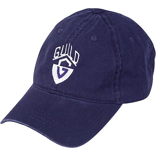 Guild G-Shield Logo Navy Blue Baseball Hat Navy