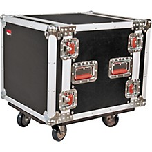 Open Box Gator G-Tour 10U Cast Rack Road Case with Casters