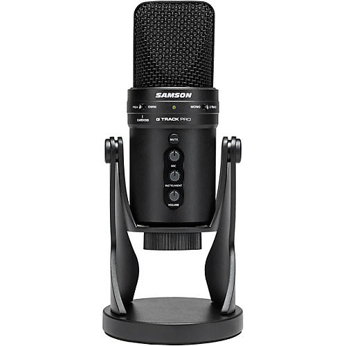 G track Pro USB 24-bit Studio Condenser Mic with Audio Interface