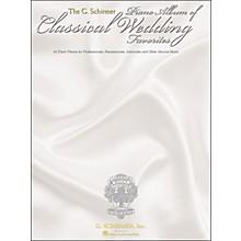 G. Schirmer G. Schirmer Piano Album Of Classical Wedding Favorites