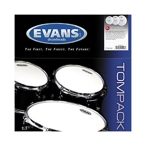 Evans G1 Coated 12/13/16 Standard Drum Head Pack