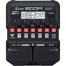 Open Box Zoom G1 FOUR Guitar Multi-Effects Processor