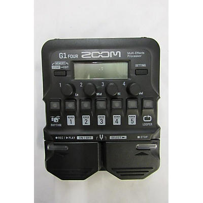 Zoom G1 FOUR Multi Effects Processor
