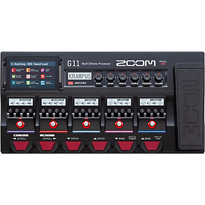 Zoom G11 Multi-Effects Processor With Expression Pedal