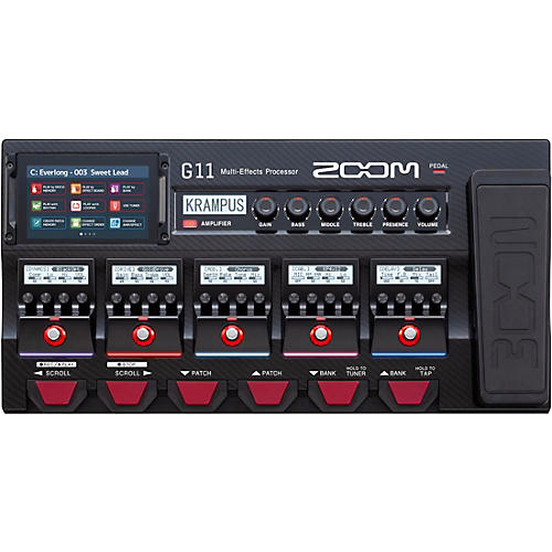 Zoom G11 Multi-Effects Processor With Expression Pedal Condition 1 - Mint Regular