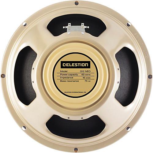 Celestion G12 Neo Creamback 60W 12 in. Guitar Speaker 16 Ohm