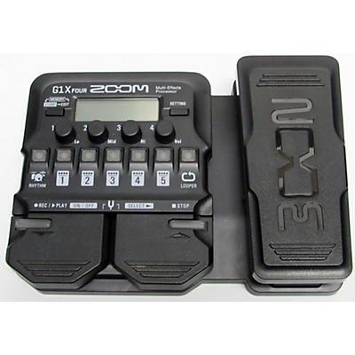 Zoom G1X FOUR Multi Effects Processor