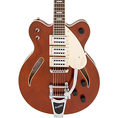 """Gretsch Guitars G2627T Streamliner Center Block 3-pickup """"Cateye"""" With Bigsby Electric Guitar"""