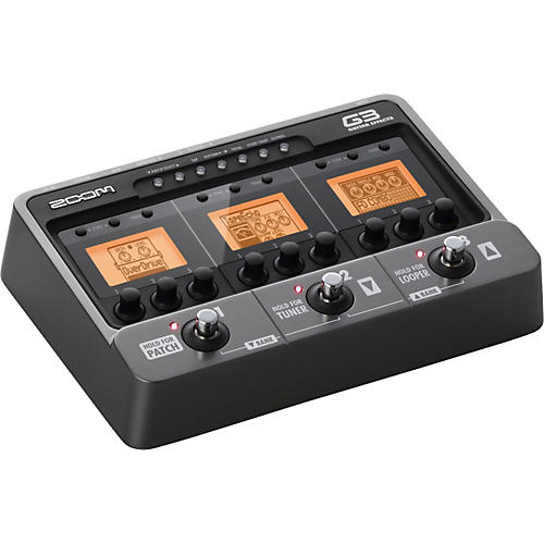 zoom g3 guitar multi effects pedal and looper musician 39 s friend. Black Bedroom Furniture Sets. Home Design Ideas